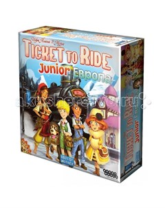 Настольная игра Ticket to Ride Junior Европа Hobby world