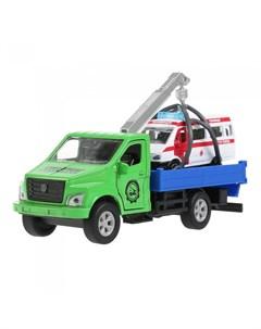 Игровой набор Эвакуатор ГАЗон Next с машинкой Технопарк