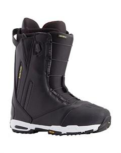Ботинки для сноуборда мужские Driver X Black 2021 Burton