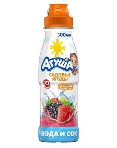 Вода и сок Садовые ягоды 300мл Агуша