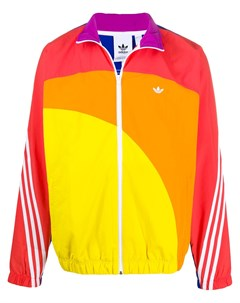 Ветровка Off Centre Pride в стиле колор блок Adidas originals
