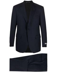 Костюм с однобортным пиджаком Canali