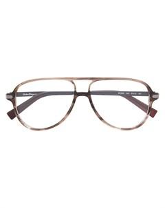 Очки авиаторы Salvatore ferragamo eyewear