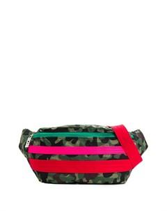 Поясная сумка с камуфляжным принтом Gcds