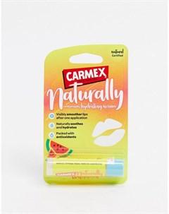 Бальзам для губ для естественного интенсивного увлажнения арбуз Carmex