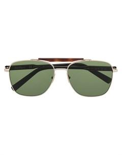 Солнцезащитные очки авиаторы Salvatore ferragamo eyewear