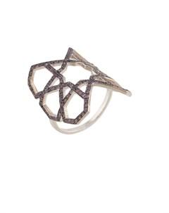 Кольцо геометричной формы Ralph masri