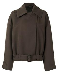 Куртка оверсайз с поясом Lemaire