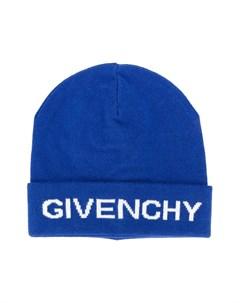 Шапка бини с логотипом Givenchy kids