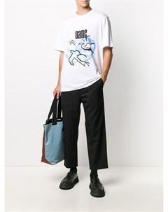 Укороченные брюки с кулиской Oamc