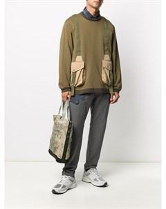 Спортивные брюки с накладными карманами White mountaineering