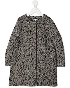 Пальто с бантом Piccola ludo