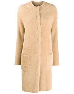 Однобортное пальто Twinset