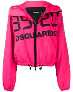 Куртка с капюшоном и логотипом Dsquared2