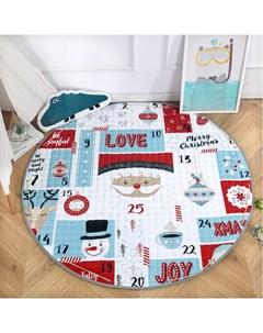 Игровой коврик стеганый Подарок 150 см Porolon