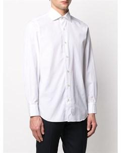 Однотонная рубашка Seattle Finamore 1925 napoli