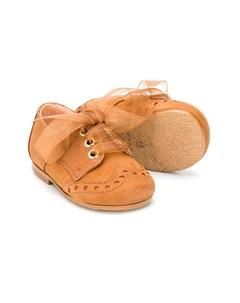 Пинетки на шнуровке Clarys