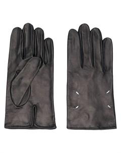 Перчатки с декоративной строчкой Maison margiela