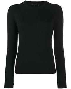 Пуловер с круглым вырезом Theory