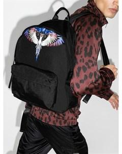 Рюкзак с принтом Wings Marcelo burlon county of milan
