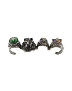 Кольцо на четыре пальца Marcelo burlon county of milan