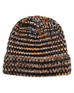 Меланжевая шапка бини Missoni