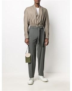 Укороченная куртка со сборками Vejas