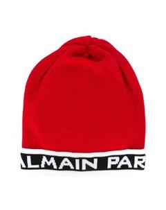 Трикотажная шапка бини Balmain kids
