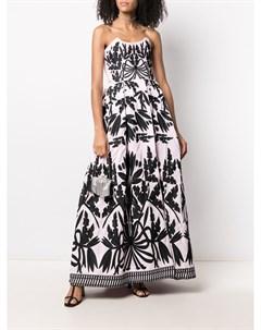 Длинное платье Olive с вышивкой Yuliya magdych