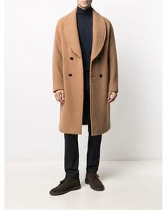 Пальто Robbie с лацканами шалькой Mp  massimo piombo