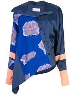 Панельная рубашка с цветочным узором Peter pilotto