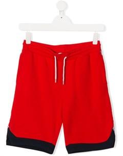 Спортивные шорты со вставками и логотипом The marc jacobs kids