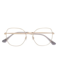 Очки в круглой оправе Jimmy choo eyewear