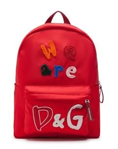Рюкзак We Are D G Dolce & gabbana kids