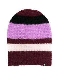 Полосатая шапка бини Molo