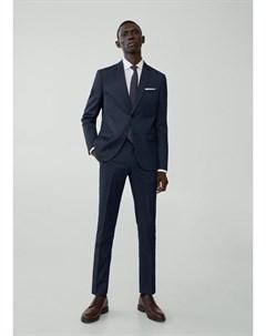Костюмные брюки super slim fit Paulo Mango
