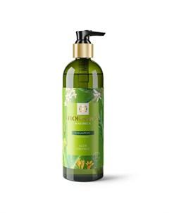 Шампунь Majorca глубокое увлажнение для всех типов волос Алоэ апельсин 345 мл Floristica