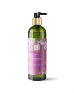 Шампунь Аsia для всех типов волос питание и восстановление вишневый цвет миндаль 345 мл Floristica