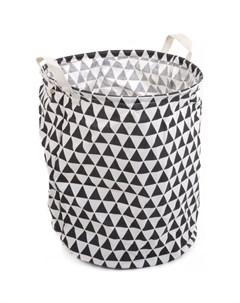 Корзина для хранения игрушек Треугольники 40х50 см Игротрейд