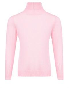 Розовая шерстяная водолазка детская Arc-en-ciel