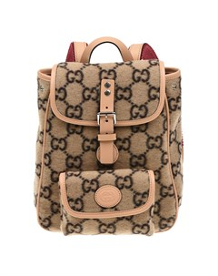 Бежевый рюкзак 21х8х24 см детский Gucci