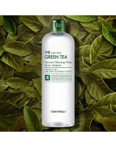 Очищающая вода The Chok Chok Green Tea No wash Cleansing Water 700 мл Tony moly