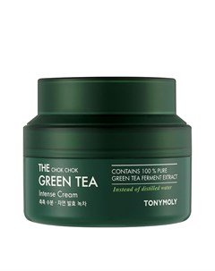 Крем для лица The Chok Chok Green Tea Intense Cream Tony moly