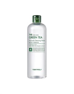 Очищающая вода The Chok Chok Green Tea No wash Cleansing Water 500 мл Tony moly