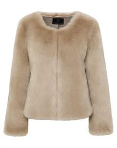 Куртка с принтом Unreal fur