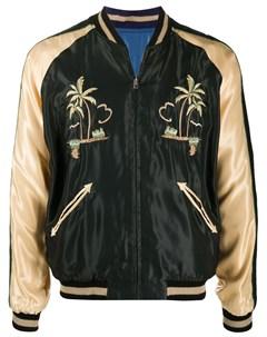 Двусторонняя куртка бомбер с вышивкой Tailor toyo