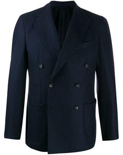 Двубортный пиджак Borrelli