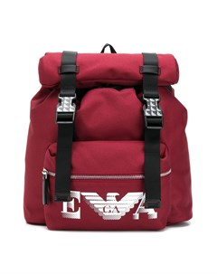 Рюкзак с пряжками Emporio armani kids