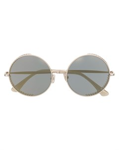 Солнцезащитные очки Goldys в круглой оправе Jimmy choo eyewear