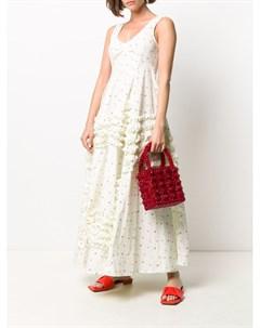 Платье макси с цветочным принтом Molly goddard